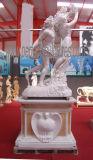 Sculpture de marbre découpée découpant la statue en pierre avec le grès de granit (SY-X1686)