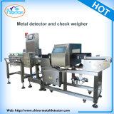 Détecteur de métaux avec le peseur de vérification