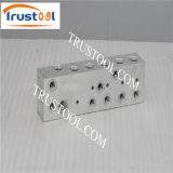 5axis che anodizza i pezzi meccanici alluminio di CNC