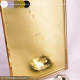 Miroir d'or avec la glace d'or de miroir d'OIN