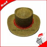 Сплетенный бумажный шлем Sun ковбоя сторновки
