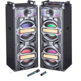 Altoparlante attivo di Digitahi LED del doppio 10 del Woofer chiaro Colourful di pollice