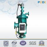 Filtro de agua agrícola autolimpiador automático del sistema de la filtración del agua de irrigación