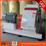 macchina di legno del mulino a martelli dell'alimentazione della macchina per la frantumazione della buccia del riso 1-5t