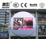 Placa video de indicador de diodo emissor de luz do anúncio ao ar livre de cor cheia P4