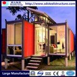 販売のためのプレハブの建物の容器のホーム
