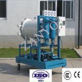 Purificador de separação de coalescência de óleo leve usado