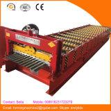 Máquina de formação de rolo de folha de telhado de ferro corrugado