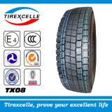 Radial résistant Truck Tyre, TBR Tyre avec DOT CEE, Bus Tyre et Tubeless Truck Tyre