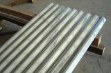 Le mattonelle dello strato del tetto di ASTM A653 hanno galvanizzato la lamiera di acciaio ondulata in bobine