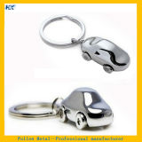 Mann- u. Female Single Design Stone Inserted Silver Plated keychain