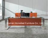 Новый стол управленческого офиса CEO верхней части Tempered стекла конструкции (HF-SIA002)