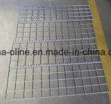 鋼鉄によって壁のGabionの電流を通されるバスケット