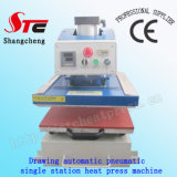 セリウムのCertificate Drawing Pneumatic Heat Press Machine 40*40cm Automatic T-Shirt Heat Transfer Machine Single Station Heat Transfer Machine StcQd08
