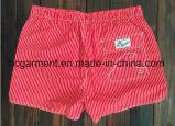 A tela de Mose embarca Shorts, Shorts impressos tira da praia do homem
