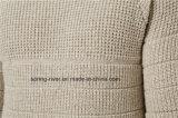 아크릴 모직 혼합 패턴 스웨터 남자 편물