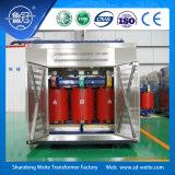 Air-Cooled малошумный Dry-Type распределительный трансформатор 11kv с случаем предохранения