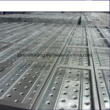 Safe Ringlock Scaffold Steel Plank / Plate-forme / Panneau avec Construction