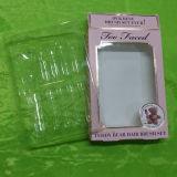 Bandejas claras del PVC para los cosméticos