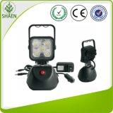 indicatore luminoso magnetico ricaricabile del lavoro di 15W forte LED
