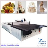 Máquina que corta con tintas cortada tela de la tela no tejida caliente de las ventas del cuero del precio bajo