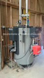Gaz et générateur de vapeur vertical au fuel de 150 kg/h heures