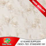 Bordado Fabric para Wedding Dress, Banquet, Handcrafted Bead