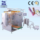 Molho de soja Quatro selagem lateral e máquina de embalagem de várias linhas