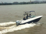 Aqualand 5.2m 17feet Speed ​​Boat / Fiberglass Motor Boat / Fishing Boat (Aqualand 170br)