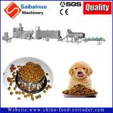 Chaîne de fabrication d'aliment pour animaux familiers faisant la machine