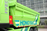 Euro 4 del carro de /Dumper del carro de descarga de Saic Iveco Hongyan Genlyon 350HP 6X4/del carro de volquete caliente en la venta (suelo del residuo de la forma de U)