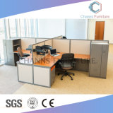 Manera L sitio de trabajo de la oficina del cubículo de la dimensión de una variable (CAS-W1771530)