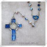 La sezione di vetro borda il rosario (IO-cr372)