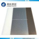 건물 지붕을%s 서리로 덥은 두 배 벽 폴리탄산염 플라스틱 널
