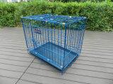 3 pulgadas Durable Metal Luxurious Pet Dog Cage para Pet Products