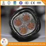 0.6/1kv cabo distribuidor de corrente isolado e PVC Sheathed de XLPE do fio de aço da armadura