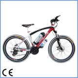 27 velocidades 36V 250W Motor Folding Mountain Electric Bike (OKM-648)