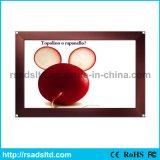 映像の表示屋内アルミニウムスナップフレームLEDの細いライトボックス