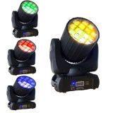 12PCS 10W 4in1 LED Beam Moving Head Disco Lighting