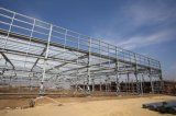 Almacén prefabricado de Wokshop de la construcción de edificios de la estructura de acero