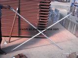 Galvanizado tubulares Cruz Suspensórios para Andaime Armação