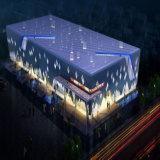 Exposición prefabricada pasillo de estructura de acero del departamento 4s