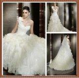 Robe de mariage unique de Multi-Couches de courroie 2013 (L001)