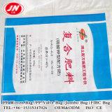 Sac tissé par plastique d'approvisionnement de la Chine pour l'amidon, produits chimiques, engrais, fourrage