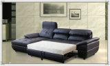Sofá azul do couro da cor, sofá do Recliner, mobília Home (M329)