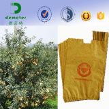 防水フルーツのためのワックスによって塗られる環境の食糧クラフト紙袋は育つ