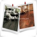 Plancher extérieur en bois de planche de vinyle d'étage de vinyle de PVC avec le modèle de cliquetis