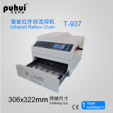 Senza piombo reflow Forno T-937, mini ondata di saldatura macchina, IR e aria calda del forno, desktop riflusso Forno