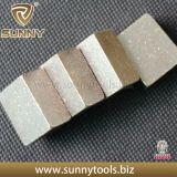 大理石のためのブロックのダイヤモンドの切断セグメント