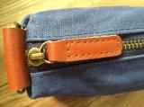 Изготовленный на заказ высокое качество помыло мешок Zippered холстиной